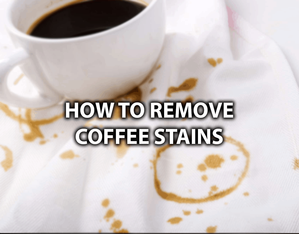 how to get coffee stains out