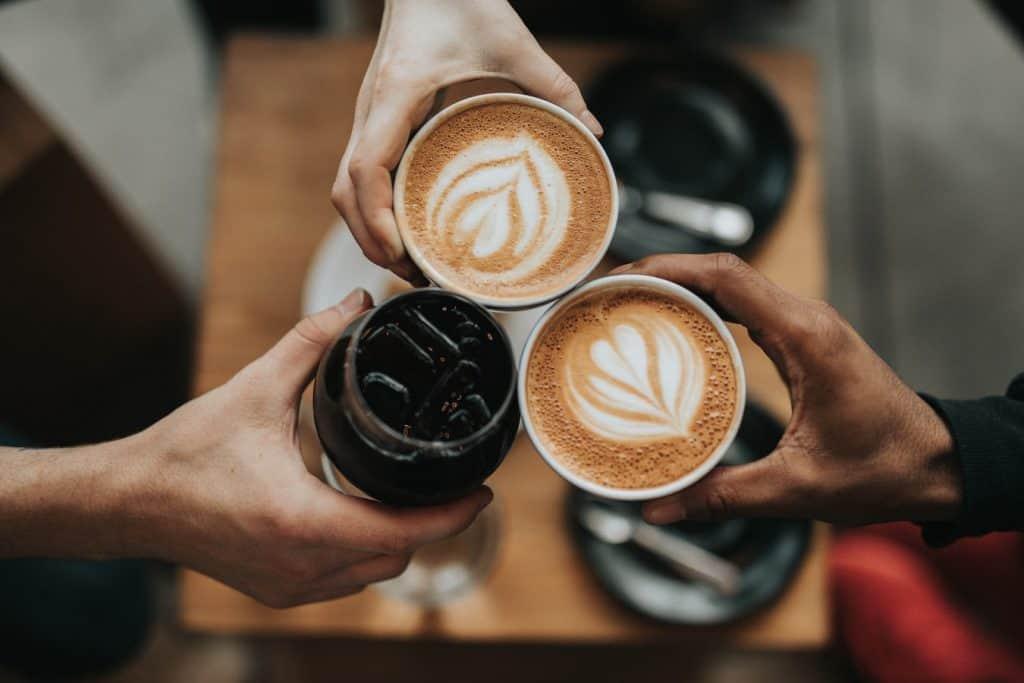 coffee and amoxicillin