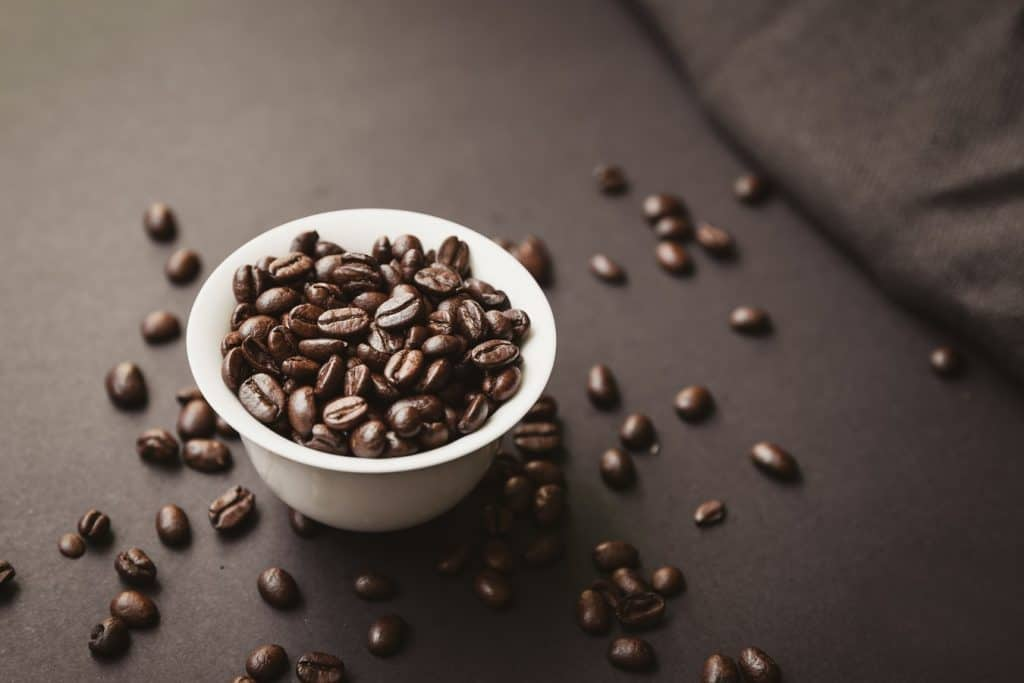 is eating coffee beans bad for you
