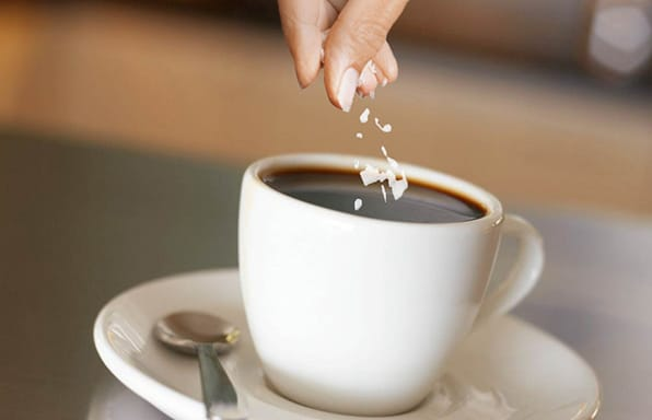 what happens when you drink coffee with salt