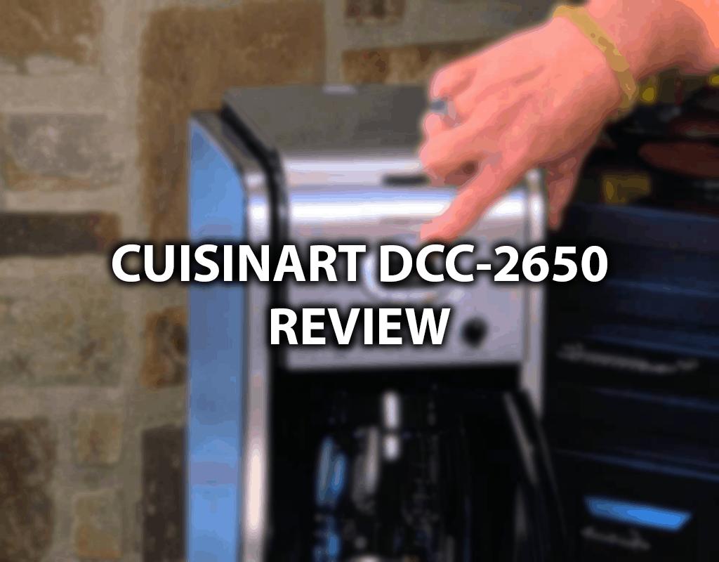 cuisinart dcc-2650