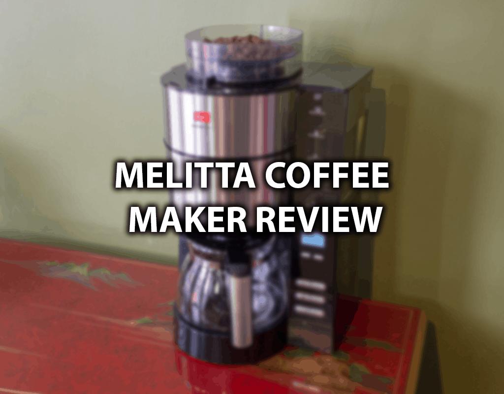 coffee maker melitta