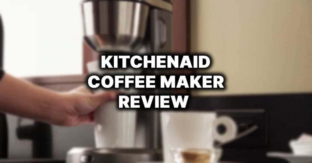 kitchenaid coffee maker review