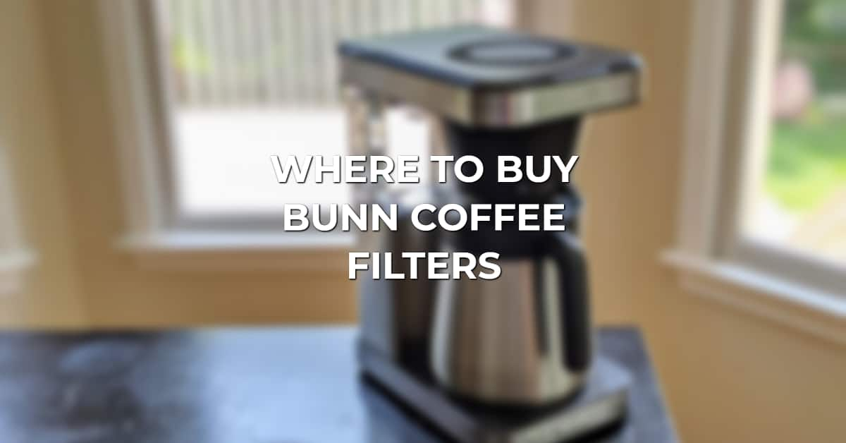 where to buy bunn coffee filters