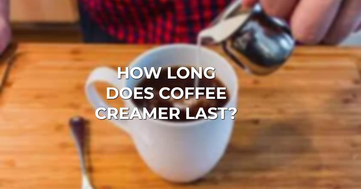 does liquid coffee creamer go bad