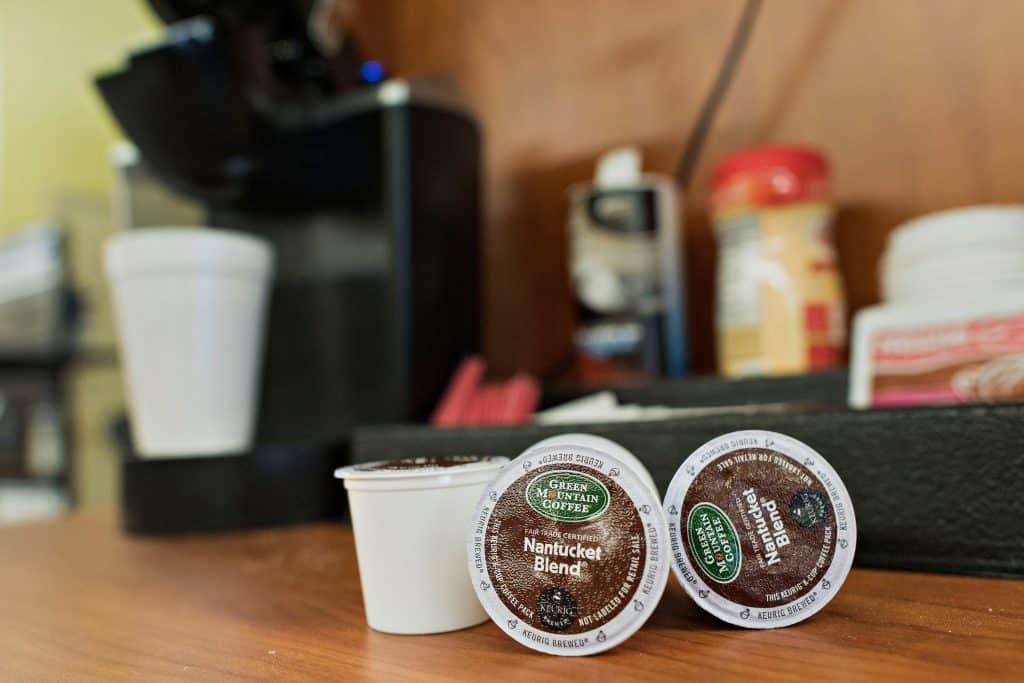 jet fuel k cups caffeine content