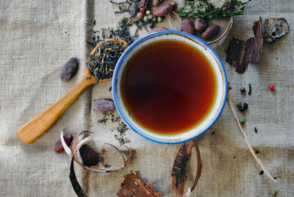 what tea is good for period cramps