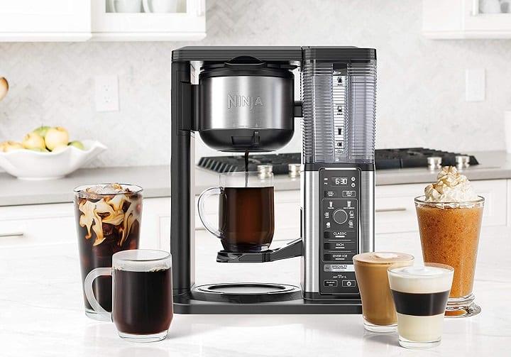 coffee maker and single serve combo