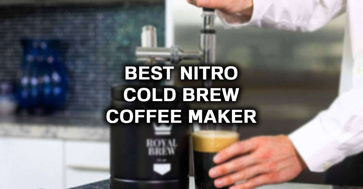 nitro cold brew at home