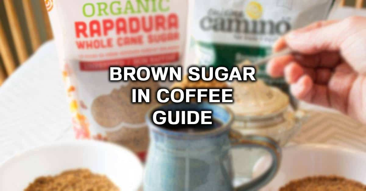 coffee with brown sugar