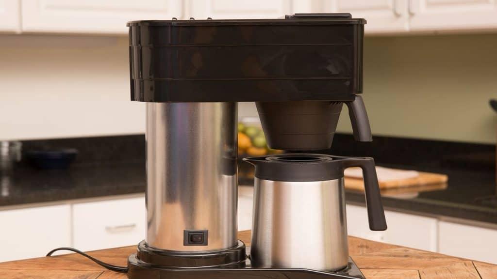 clean a bunn coffee maker