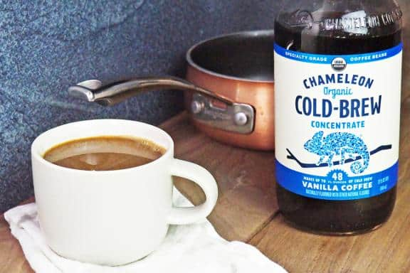 hot cold brew coffee