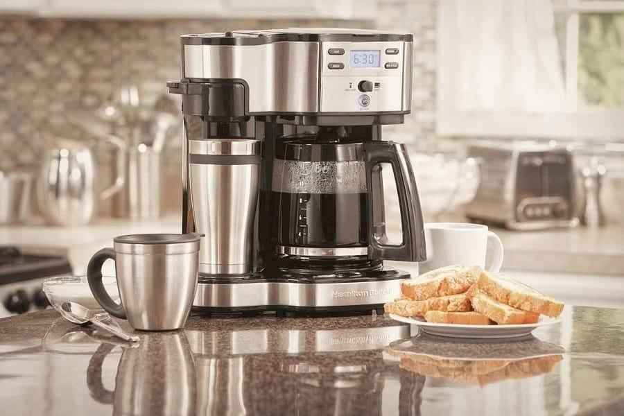coffee pot keurig combo