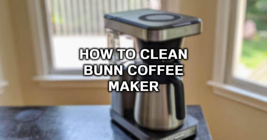 clean bunn coffeemaker