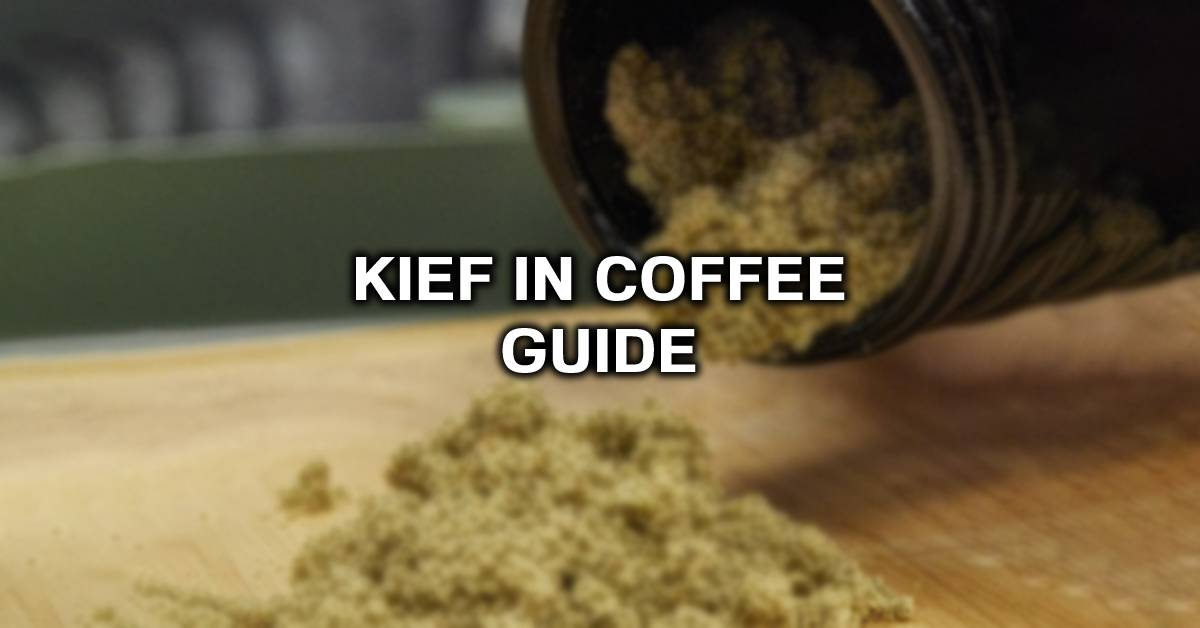 kief in coffee