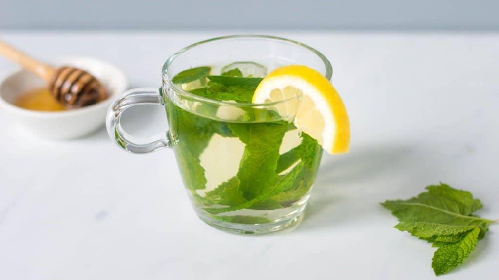 loose leaf peppermint tea
