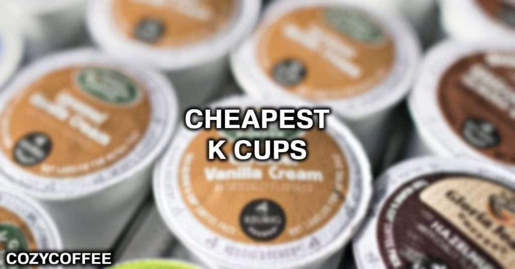 keurig k cups cheapest