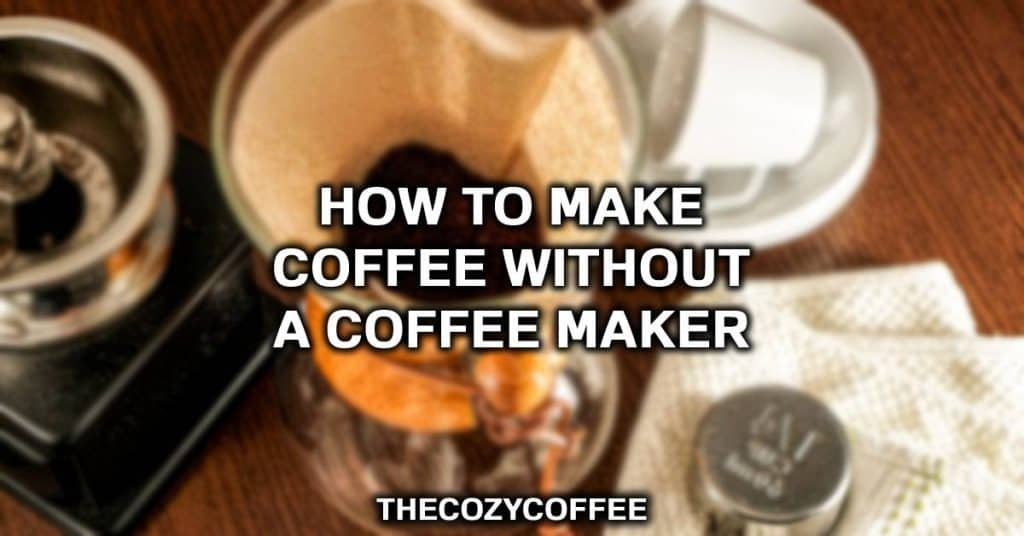 how to make coffee in a pot