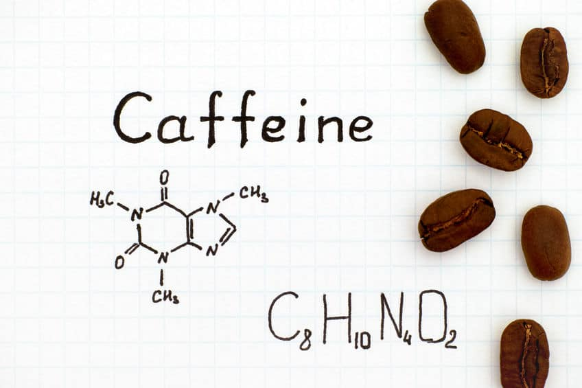 not affected by caffeine