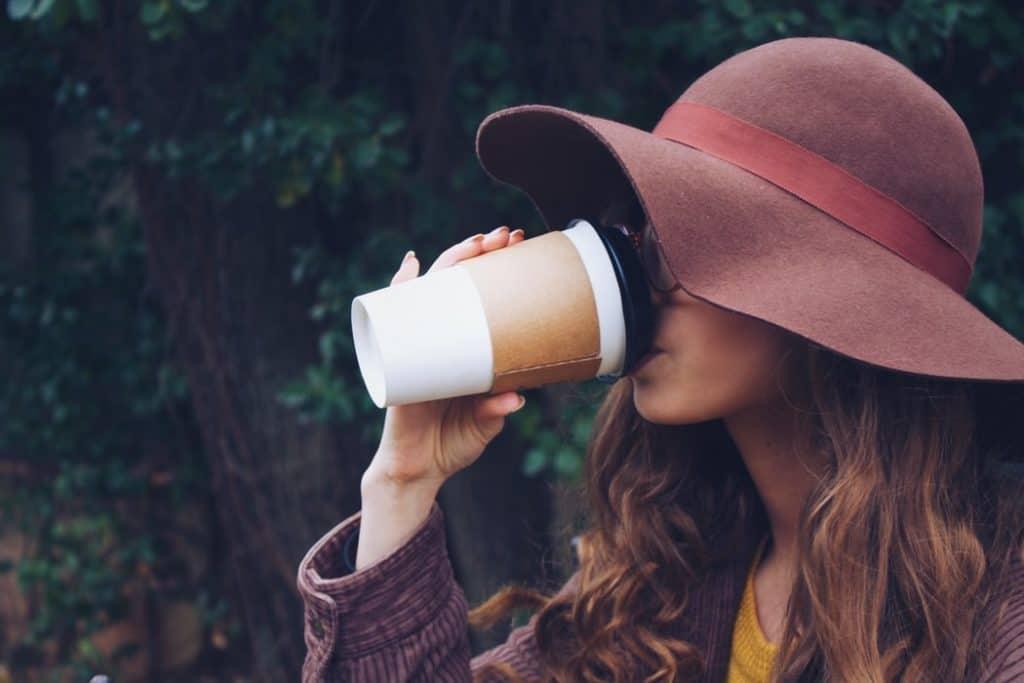 caffeine effects on skin