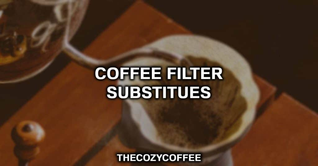 coffee no filter