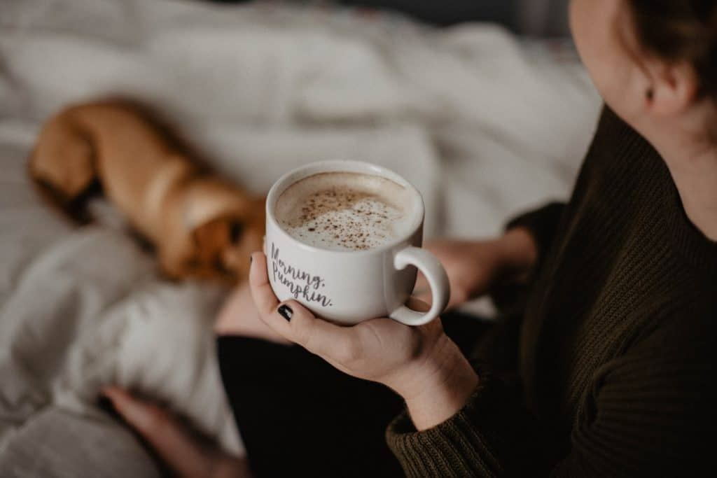 stop caffeine jitters