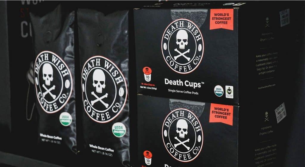 death by caffeine coffee
