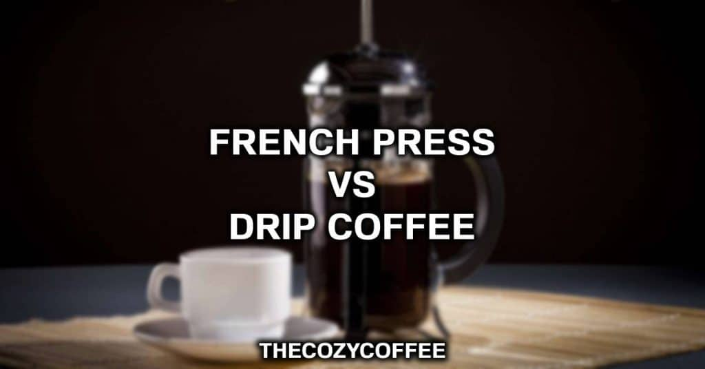 difference between french press and coffee maker