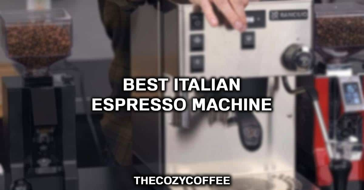 italian espresso machine brands