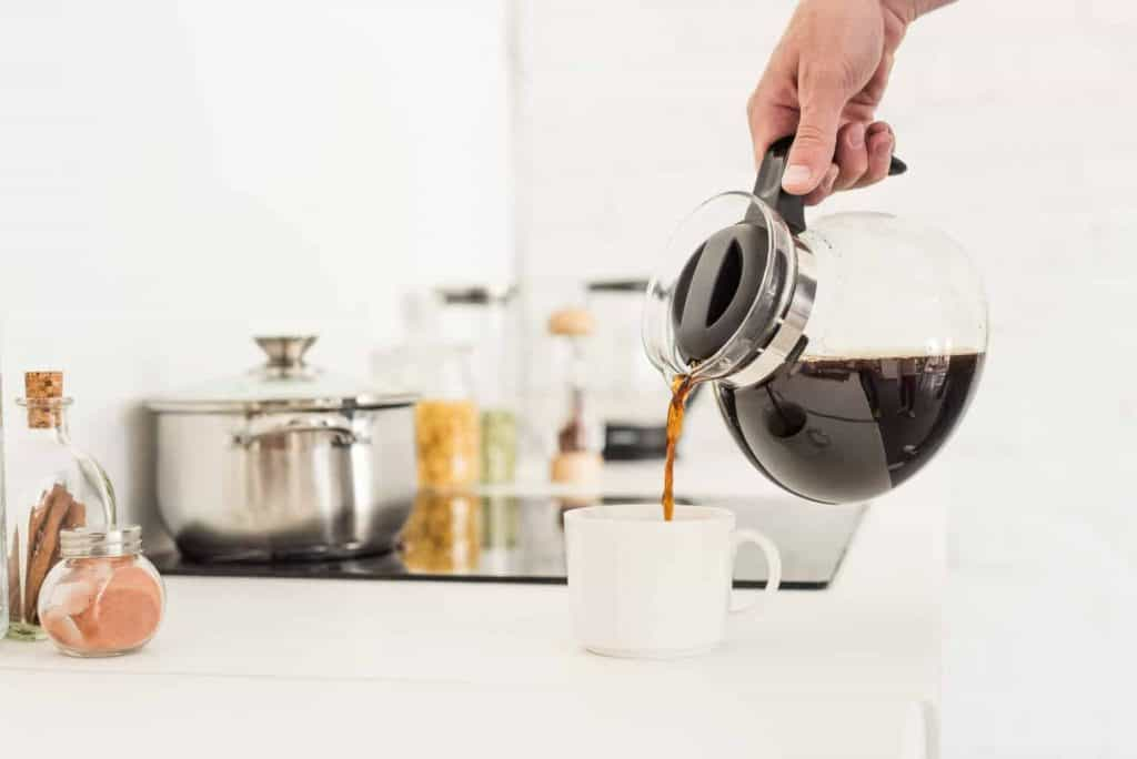 4 cup stainless steel coffee maker