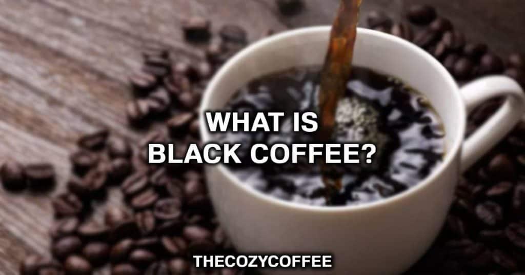 black coffee nutrition