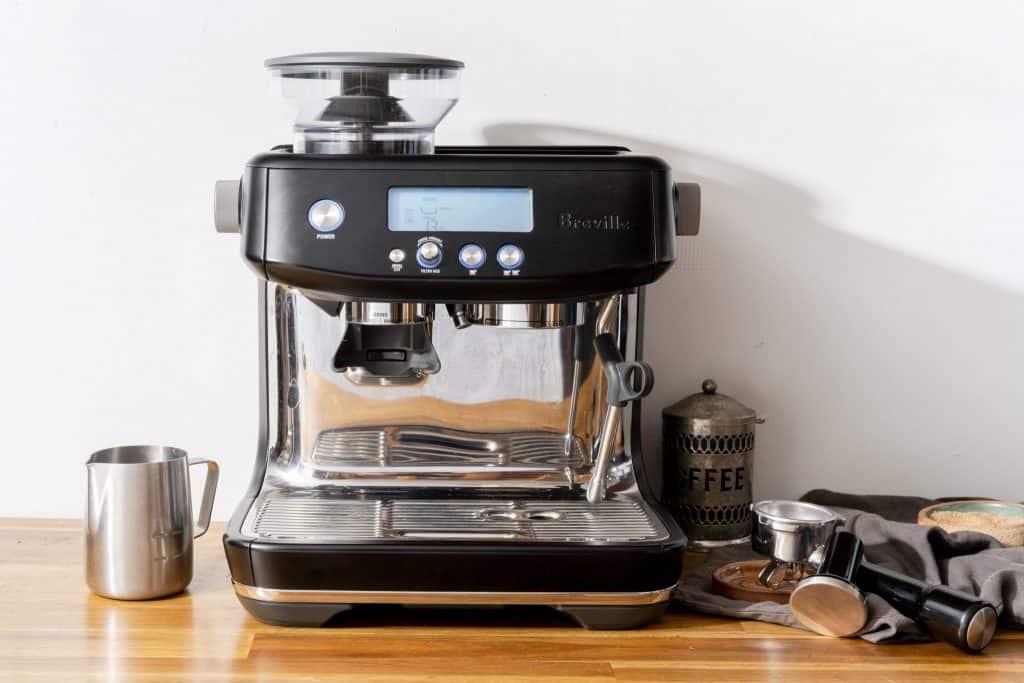 espresso machine with bean grinder