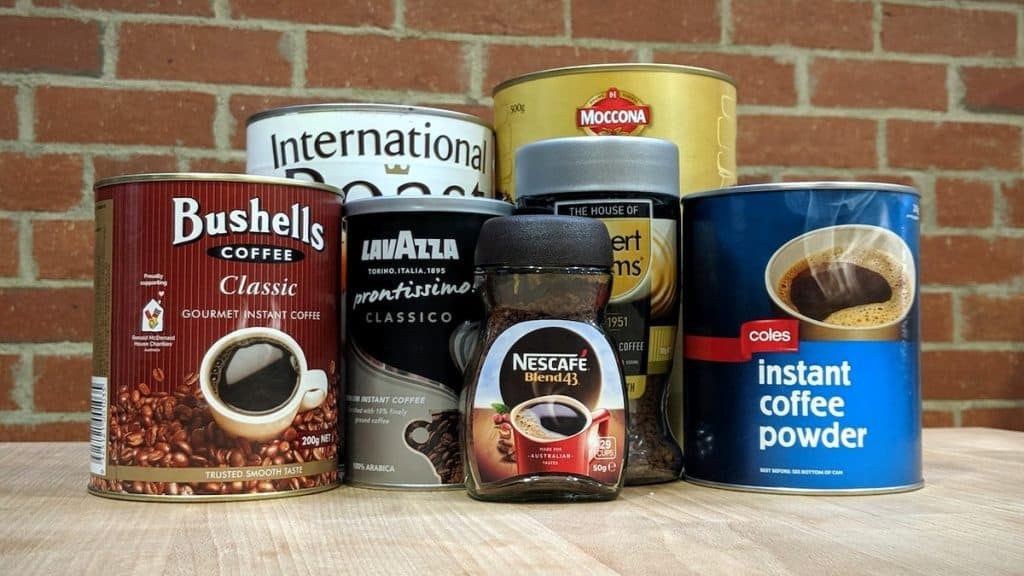 instant coffee brands