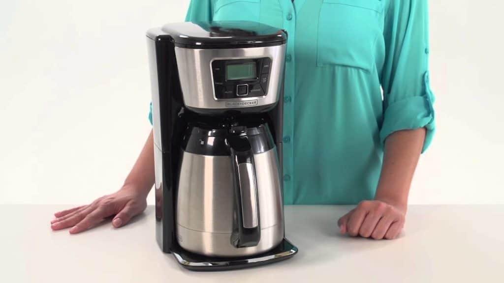 black and decker coffee maker won t brew