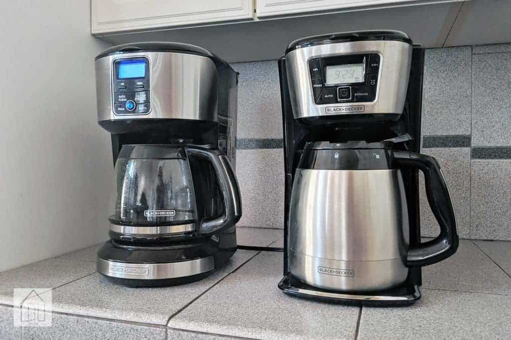 black and decker coffee maker stopped working