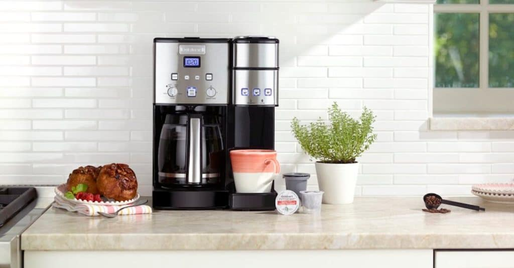 cuisinart coffee maker not brewing all the water