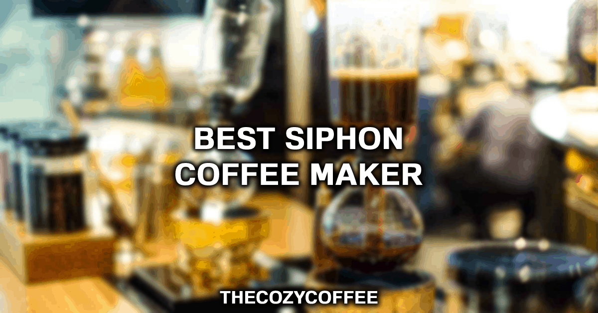 syphon coffee maker