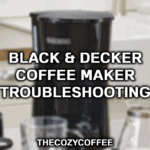 black and decker coffee maker problems