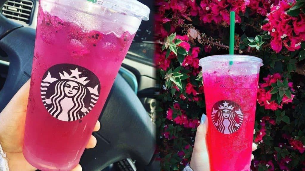 starbucks raspberry lemonade