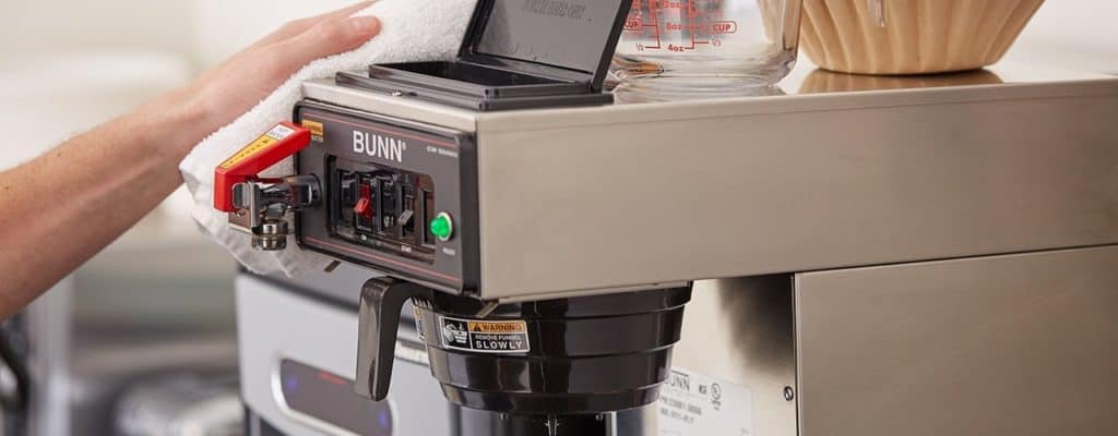 bunn commercial coffee maker troubleshooting