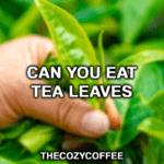 is it ok to drink tea leaves