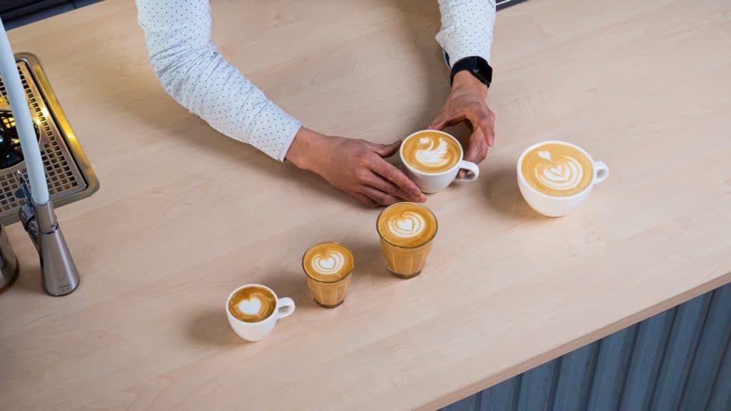 latte v flat white