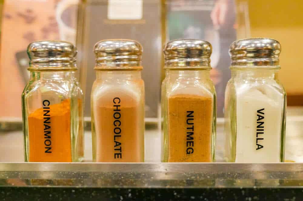 starbucks syrup flavors