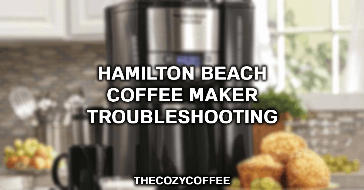 hamilton beach flexbrew not pumping water
