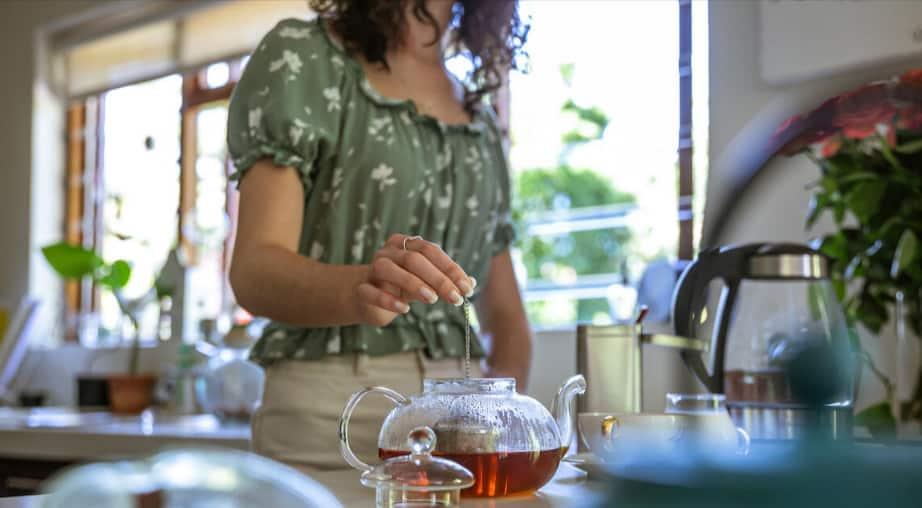 Brewing Chaga Tea